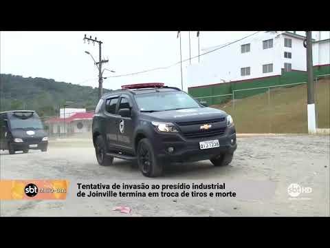 Tentativa de invasão ao presídio industrial de Joinville