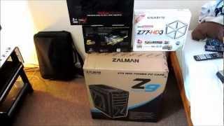 Unboxing New Zalman Z9 Plus Midi Tower Case - Black