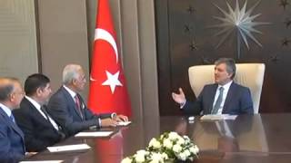 President Gül Receives Chairman Olpak of MUSIAD  - 28.08.2013