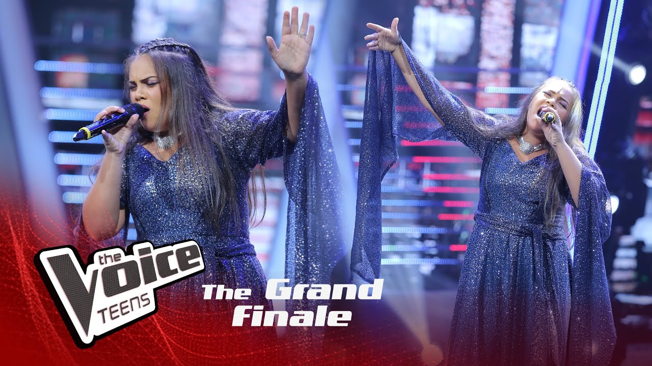 Amelia Wijesooriya | Hello | Grand Finale | The Voice Teens Sri Lanka