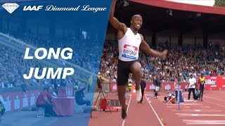 Luvo Manyonga 8.53 Wins Men's Long Jump - IAAF Diamond League Birmingham 2018