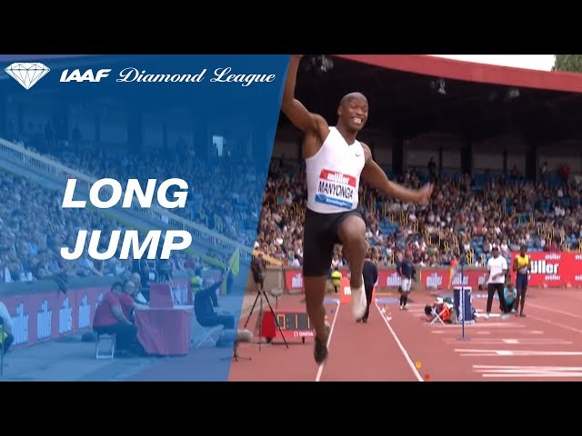 Luvo Manyonga 8.53 Wins Men's Long Jump - IAAF Diamond League Birmingham 2018