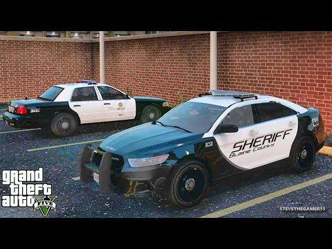 GTA 5 MODS LSPDFR 842 - DEPUTY DUMPLING PATROL!!! (GTA 5 REAL LIFE PC MOD)