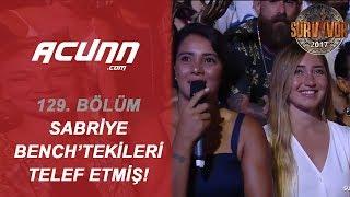 Sabriye Parkurda Yarışırken Arkadaşları Bench'te Çıldırdı | Büyük Final | Survivor 2017
