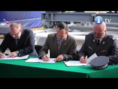Uroczystość położenia stępki Kormorana w Remontowa Shipbuilding