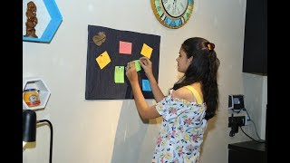 How to make a cute Notice Board for your room   Dilpreet Kaur   screenshot 1