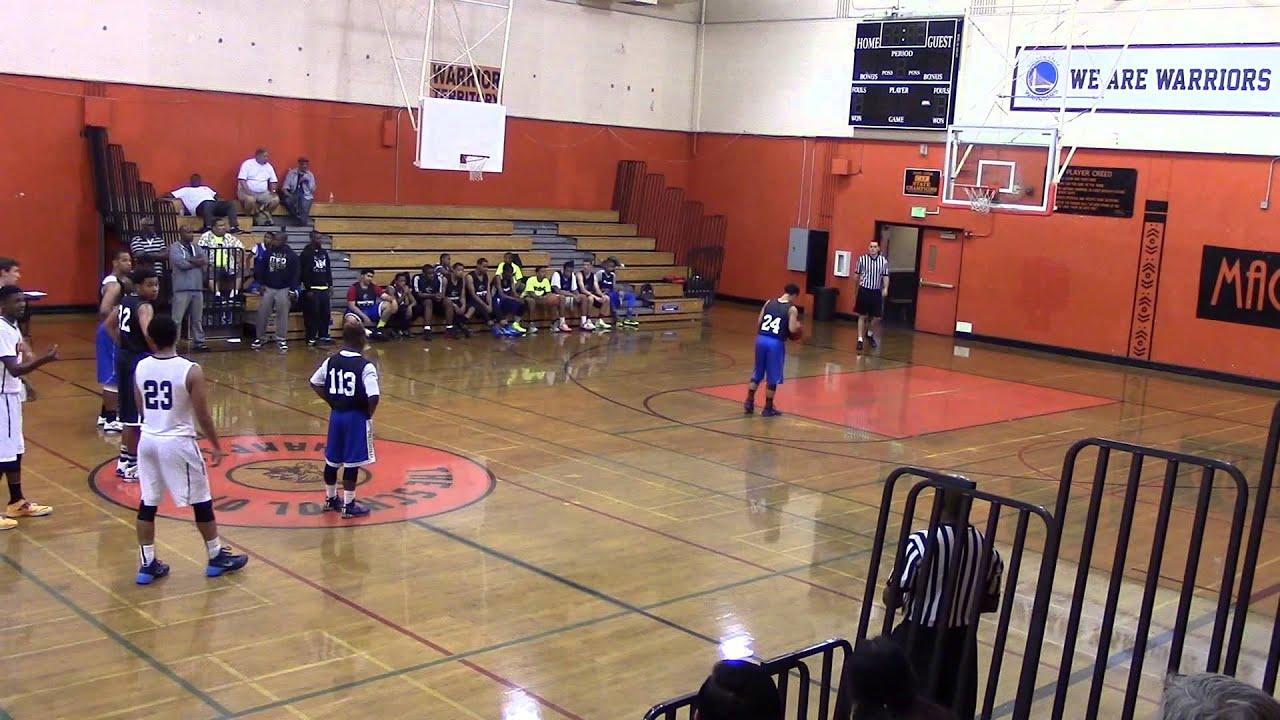 AAU Basketball Above & Beyond vs Bay Area Battlecats June ...