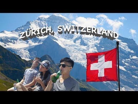 Travel: Half a Day in Zürich,  Switzerland 07.04.17  | GoPro Hero5