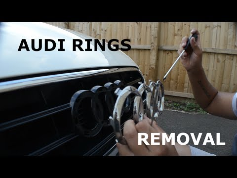 Audi Front Rings How To Remove Without Removing Bumper