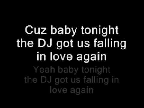 DJ Got Us Falling In Love Again Lyrics HD - YouTube