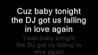 Download Usher - Dj Got Us Falling In Love Again (Lyrics On Screen) MP3 song and Music Video