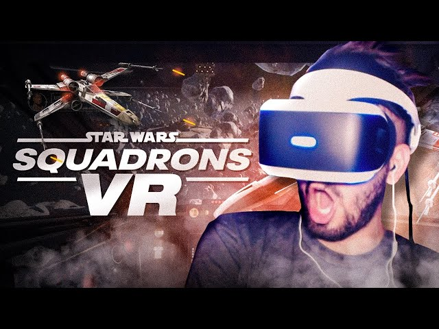 HO PILOTATO UN'ASTRONAVE CON IL VR | STAR WARS™: Squadrons