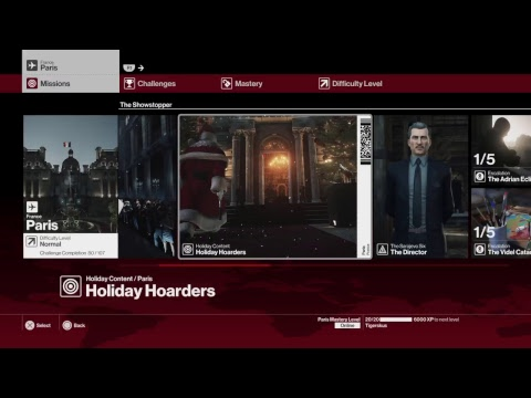 TK's Live HITMAN™ 20171030 part 2 Paris - Showstopper + Holiday Hoarders (80/107)