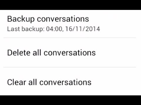 How to delete or clear all your conversation and messages on whatsapp