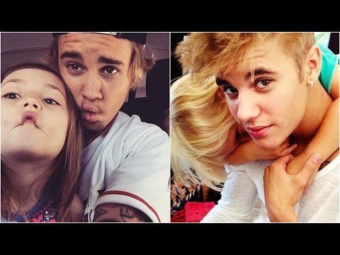 Justin Bieber And Jazmyn Bieber & Jaxon Bieber - Funny, Cute Moments