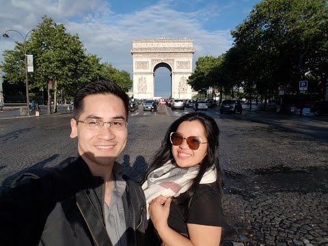 Arc De Triomphe (Paris Adventure Vlog)