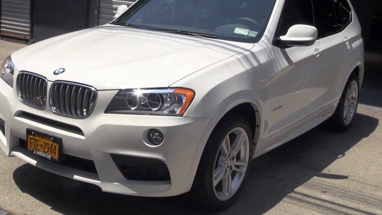 white 2013 bmw x3 35i m sport after getting detailed and cleaned youtube. Black Bedroom Furniture Sets. Home Design Ideas
