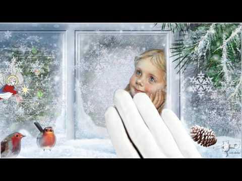 С Рождеством! Музыкальная открытка. Рисованное видео поздравление.