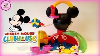 °o° Juguetes de Mickey Mouse de Disney Clubhouse en Español/Latino °o° La casa de Mickey STOP MOTION