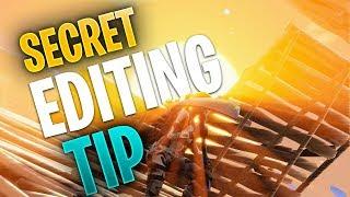 Secret Editing Tip (Edit FASTER!) - Fortnite CONSOLE