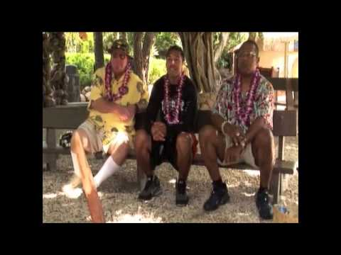 Da Braddah's visit the Polynesian Cultural Center