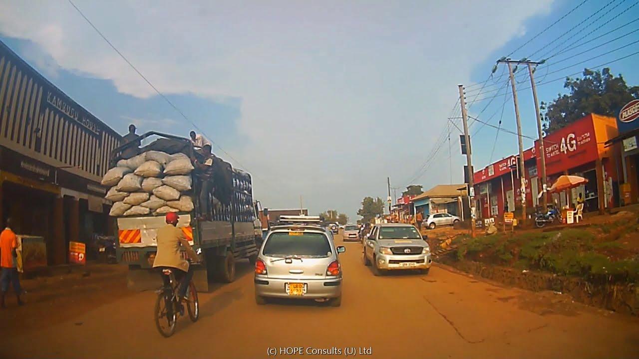 Download Drive from Kampala to Mukono via Namanve