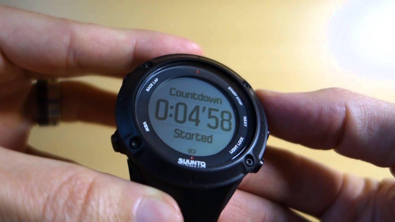 Suunto Ambit3 Manual 2 Setting Up Time Mode Displays Youtube