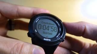 Годинник Suunto Сферу(3) Інструкція 2: Настроювання Режиму Відображення Часу