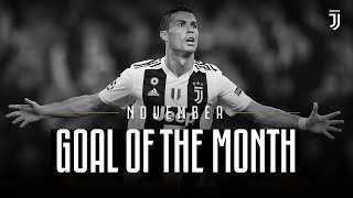 Juventus Goal of the Month | November 2018