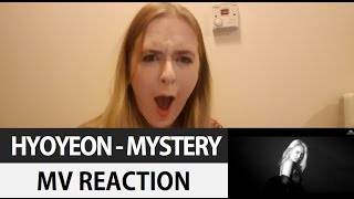 HYOYEON - MYSTERY MV REACTION | Hallyu Doing