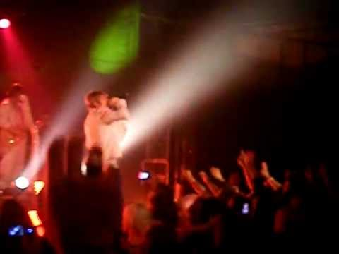 Burning Up by Nick Carter Live @The Music Farm in Charleston, SC