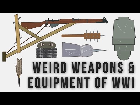 Weird Weapons and Equipment of WWI (Updated)