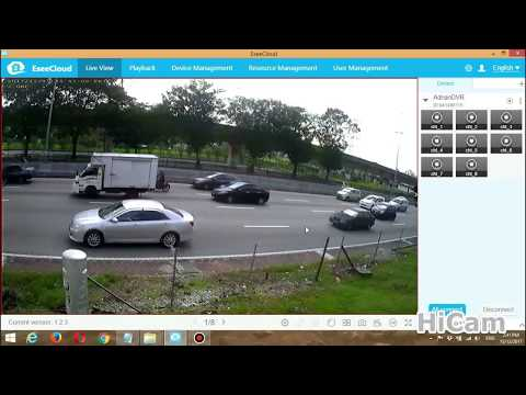 PC or Laptop] HiCam IP PRO DVR: NEW EseeCloud CMS Installation