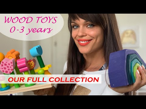 Best Wooden Toys For Kids! Our Full Non Toxic, Open Ended, Wooden Toy Collection 0-3 Years.