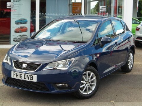 2017 16 Seat Ibiza 1 2 Tsi 90ps Se Technology 5dr In Mediterranean Blue Coming Soon