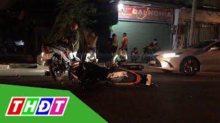 Hai quái xế gây tai nạn, khiến cả khu phố náo loạn | THDT