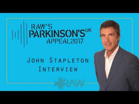 John Stapleton | Parkinsons UK & RAW Interview