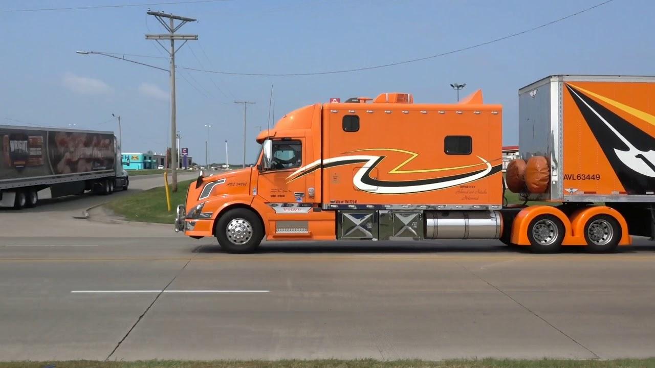 Truck Spotting in Walcott part 1