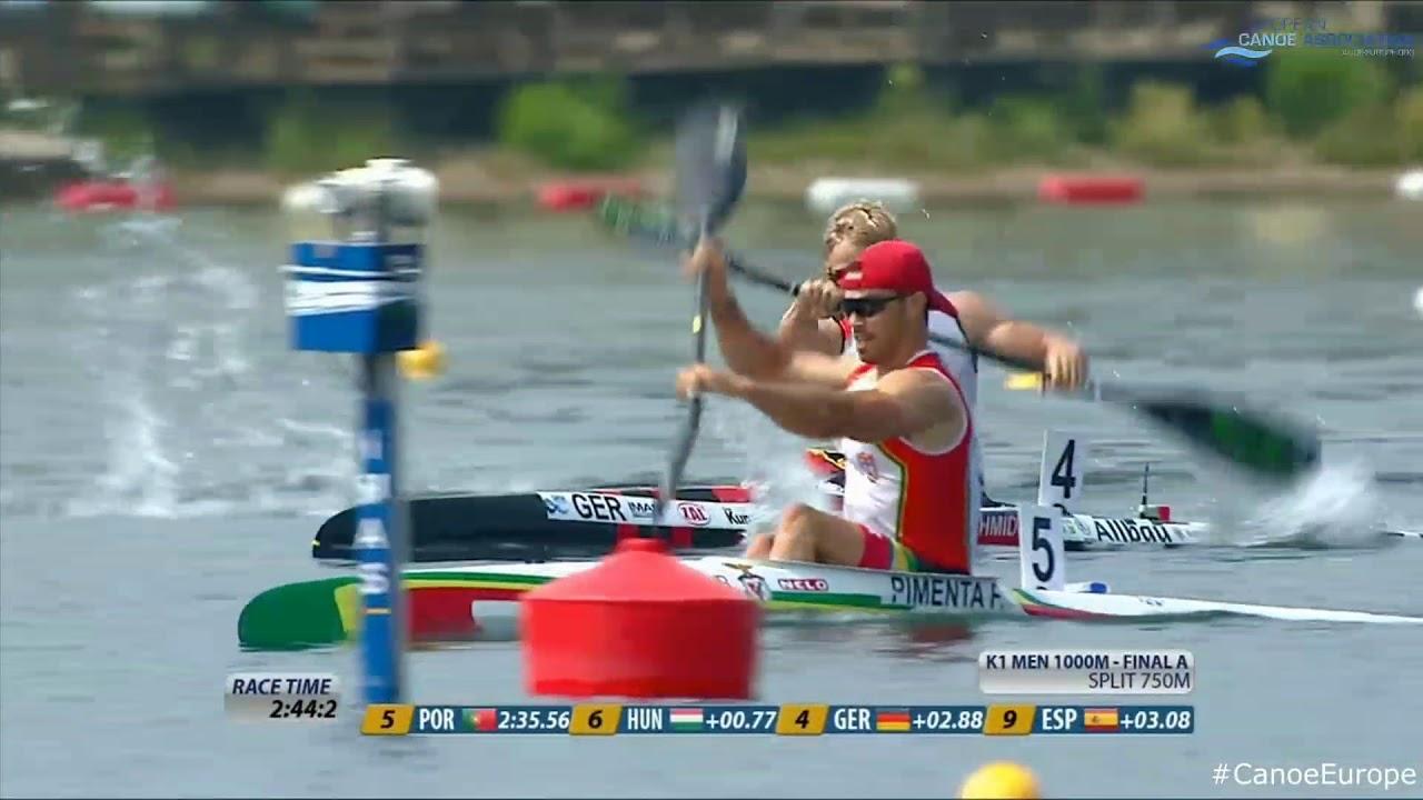 2018 ECA Canoe Sprint European Championships in Belgrade ...  |Belgrade Serbia Men