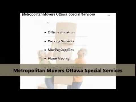 Metropolitan Movers Ottawa : Get A Moving Quote
