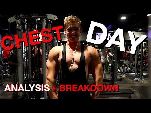Full Chest/Push Day Breakdown | Vegan Travel Vlog