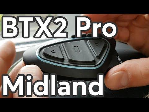 Midland BTX2 Pro Unboxing
