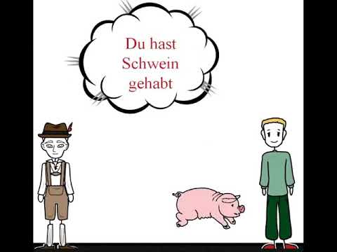 Learn German  German idioms   Redewendungen