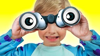 Daddy Finger Family Song | Kids Songs and Nursery Rhymes | What do you see iFinger