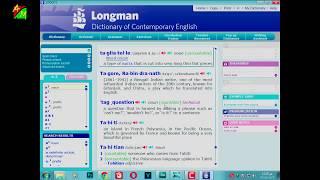 تعرف على قاموس لونج مان و شرح واجهته و طريقة استخدامه تعلم اللغة ال...