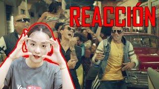 """Coreana reacciona a """"gente de zona - la gozadera (official video) ft. marc anthony"""""""