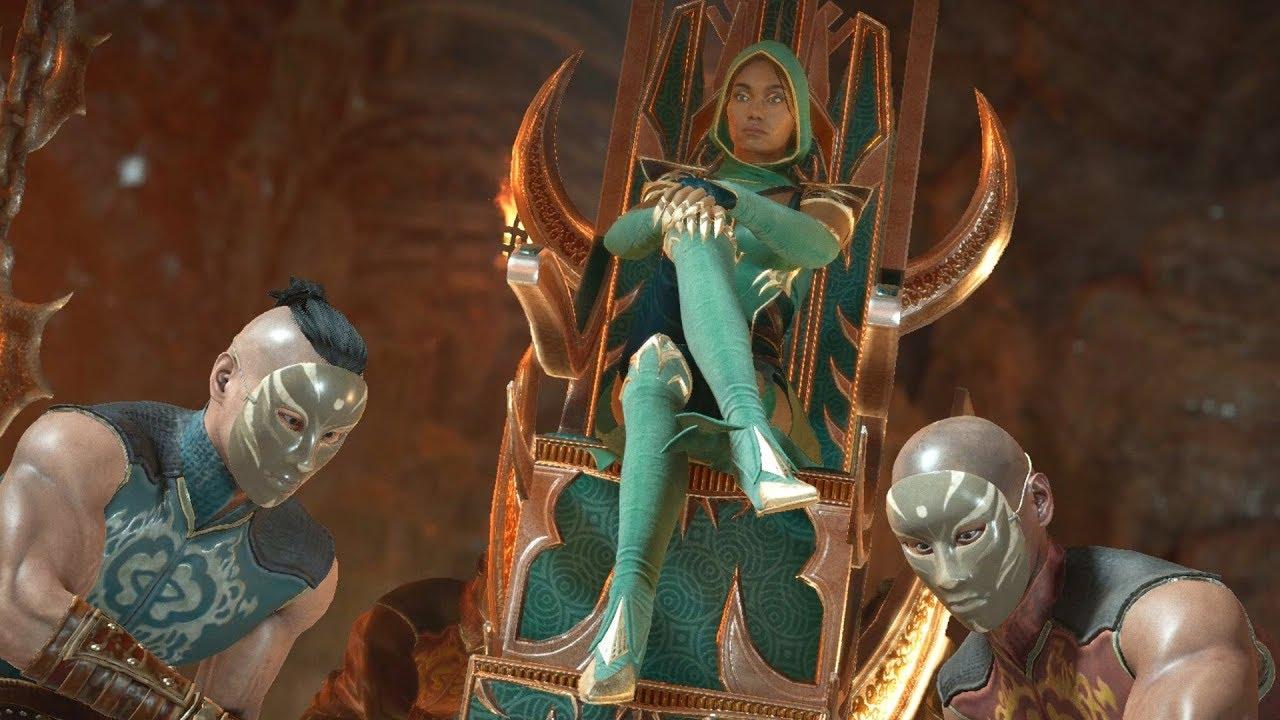 Kombat Kitana Mortal Jade Kitana and