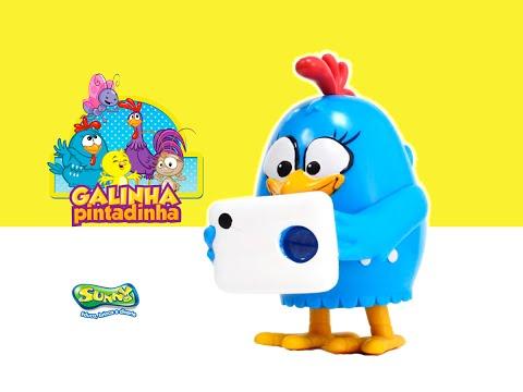 Galinha Pintadinha - Projetor Musical, Brinquedos da Galinha Pintadinha