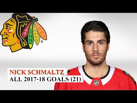 Nick Schmaltz (#8) All 21 Goals of the 2017-18 NHL Season
