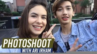 Steffi Zamora VLOG - Photoshoot with Ari Irham